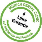 Garantiesiegel Munich Dental Clinic